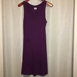 Purple converse dress